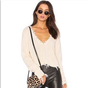 Lovers and friends prospect sweater ivory xs